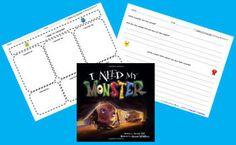 free i need my monster writing activity