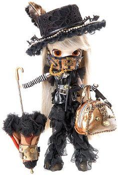 Amazon.com: Pullip Dolls Byul Steampunk Rhiannon 10 Fashion Doll Accessory: Toys & Games