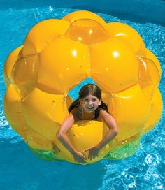 This awesome swimming pool dome allows the kids to walk on water all summer!