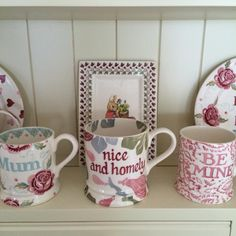 Personalised Pink Figs 1 Pint Mug 2016 (Discontinued 26th August 2016)