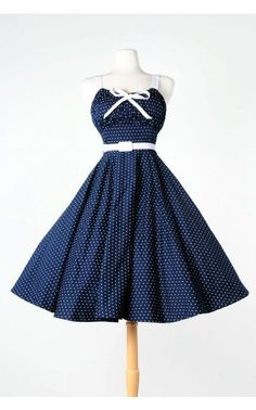 Pinup Couture Molly Dots Dress