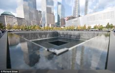 WTC: The World Trade Center shimmers in surreal sunshine as tiny onlookers remember the tragedy