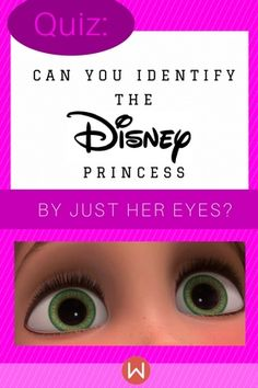 Identifying Disney princesses, including Jasmine from Aladdin, Ariel from The Little Mermaid and Aurora from Sleeping Beauty, solely by their eyes. Disney Princess Quiz Buzzfeed, Disney Quiz, Disney Princess Quotes, Disney Princess Frozen, Disney Songs, Disney Facts, Disney Memes, Disney Trivia, Merida Disney