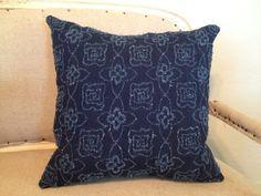 Dark Denim Pillow Cover 20 by Caswellandcompany on Etsy, $34.50