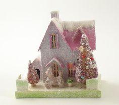 Glitter Putz House <3