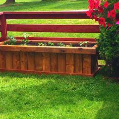 Planter box. Vegetable Garden