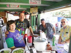 Cajun Karl's Creole Kitchen. Best pork tamales. Estate Mandahal, St. Thomas, U.S. Virgin Islands