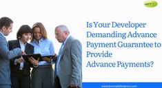 Get the #payment #upfront from your developer or buyer by providing #AdvancePaymentGuarantee! Apply now to get the required bond within 48hrs! Apply now!