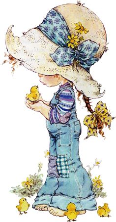 Immagini Sara Kay e Holly Hobbie Sarah Key, Holly Hobbie, Sara Key Imagenes, Cute Illustration, Illustration Pictures, Vintage Pictures, Cute Drawings, Coloring Pages, Little Girls