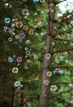 I always relax when I make bubbles happen everyone needs a bubble wand in there life