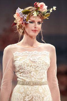 Claire Pettibone 'HELENA' wedding gown