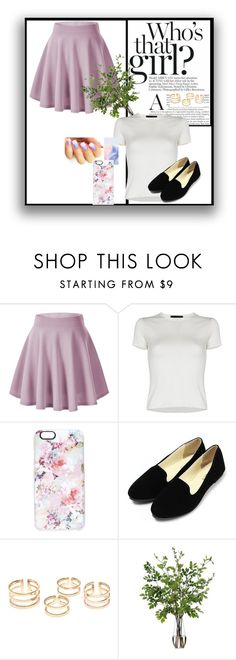 """""""who's that girl"""" by aye-its-me-lila on Polyvore featuring Casetify, Diane James, women's clothing, women, female, woman, misses and juniors"""