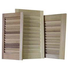 Use a Louvered Shutter to Sort Mail    How to do it: Mount it on the wall, stick letters and bills in the slots.     Estimated cost: Unfinished 12-by-41-inch Western red cedar fixed-louver shutter, about $91; JCPenny