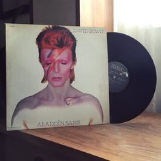 David Bowie - Aladdin Sane (1973) Finally playing this 1980 US reissue I happened to get the week before he passed away. Really clean copy for $13 don't think that's attainable now. #davidbowie #bowie #aladdinsane #nowplaying #nowspinning #vinyl #vinyligclub #instavinyl #vinylporn #vinylcollection #LP #recordcollection #musiccollection #vinylcommunity #albumcover #album #albumart #1973 by allthatyouseeandhear