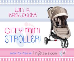 Enter this giveaway to win a City Mini Stroller from TinySteals.com