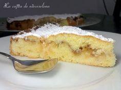 La cajita de Nieves y Elena: Pastel sueco de manzana y almendra