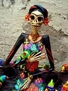 Día de muertos. Puebla, Mex.