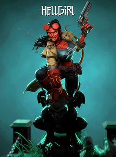 ArtStation - HellGirl, Thanos Bompotas (Freelancer)