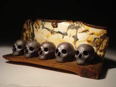 Skull Bucket Study via Etsy.