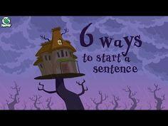 (44) Writing Tips: 6 Ways to Start a Sentence - YouTube