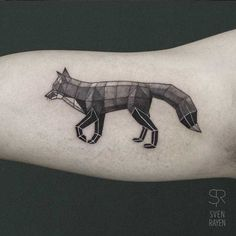 Low Poly Geometric Animal Tattoos by Belgian Artist Sven Rayen ...