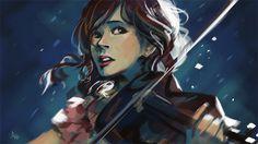 Shatter Me by N-Maulina.deviantart.com (Lindsey stirling. The best violinist/dubstep mixer ever.)