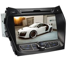 Generic 8 Inch In Dash Car DVD Player GPS Navigation Digital Touchscreen for IX45