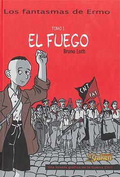 Còmic   Primera part de 'Los Fantasmas de Ermo', una trilogia sobre la Guerra Civil Espanyola que té com a protagonista un noi orfe que arriba a la Barcelona revolucionària del 1936.