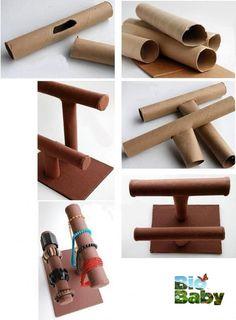 Diy Crafts To Do, Diy Crafts Hacks, Diy Arts And Crafts, Diy Projects, Cardboard Crafts, Paper Crafts, Creation Deco, Diy Recycle, Recycled Crafts