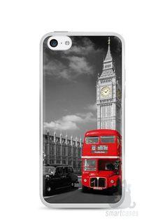Capa Iphone 5C Londres #3 - SmartCases - Acessórios para celulares e tablets :)