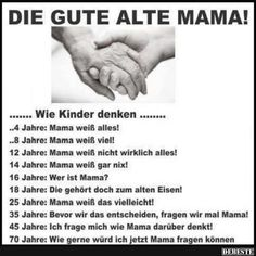 Die gute alte Mama! | Lustige Bilder, Sprüche, Witze, echt lustig Teacher Humor, Mom Humor, Handmade Gifts For Grandma, Wisdom Thoughts, Truth Of Life, Really Funny, Kids And Parenting, Picture Quotes, Wise Words