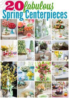 20 Fabulous Spring Centerpieces | MyBlessedLife.net