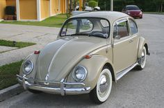 1965 VW Beetle - the first of Volkswagen Vintage, Vw Super Beetle, Beetle Bug, Vw Bus, Kdf Wagen, Beetle Convertible, Old Classic Cars, Cute Cars, Vw Beetles