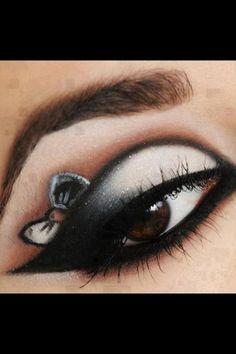 #bow #makeup
