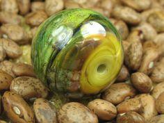 Into the Fire Lampwork Art Beads ~Audacieux~ Artist handmade glass focal bead