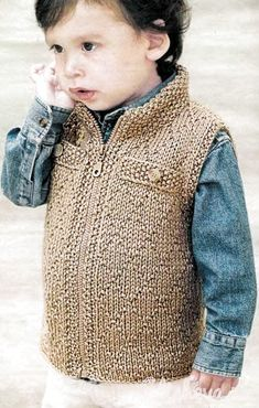 26 ideas crochet baby hoodie blanket for 2019 Knit Cardigan Pattern, Crochet Hoodie, Crochet Vest Pattern, Hoodie Pattern, Baby Boy Knitting, Knitting For Kids, Baby Knitting Patterns, Crochet For Boys, Crochet Baby