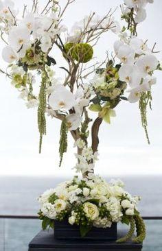 manzanita orchid wedding flowers