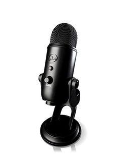 Blue Microphones Yeti USB Microphone - Blackout Edition Blue Microphones http://www.amazon.com/dp/B00N1YPXW2/ref=cm_sw_r_pi_dp_1uaKub1T6R8X8