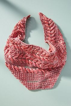 Slide View: 1: Ellery Raffia Scarf Necklace