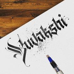 "1,027 Likes, 19 Comments - Lalit Mourya Calligrapher (@lalit.mourya207) on Instagram: ""Greeting""Yuvakshi""✍ #lalitmourya207 #calligraphymasters #calligraphy #calligraffiti…"""