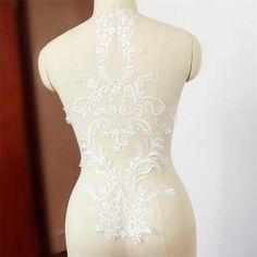Vintage-en-dentelle-de-mariee-applique-broderie-florale-motif-mariage-accessoires-1-pieces