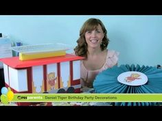 Paper Medallions & Trolley Dessert Stand | Daniel Tiger Birthday Party (1) | PBS Parents - YouTube