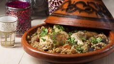 Rezept: Nordafrikanische Hähnchen-Tajine