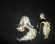 Gerry's 1960s Gold Tone Poodle Brooch #Gerrys
