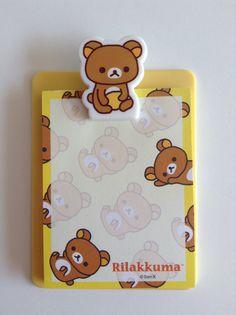Lindas libretas de Rilakkuma con portapapeles por LadyLoveShop