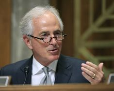 Bob Corker said Wednesday he will hold a hearing next week looking at presidential authority to use nuclear weapons, in a move that seems targeted at President Trump.