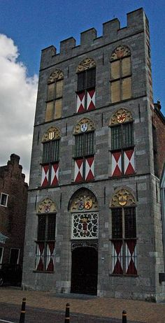 Stadhuis Vianen, Utrecht. Was, Utrecht, Big Ben, Dutch, Medieval, Europe, Tattoo, Architecture, City
