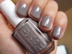 I'm wearing Essie's Chinchilly on my fingers as I type this and I heart it so. Is it gray? Tan? Lavender? Maybe all of the above. $8 at Target - can't be beat!