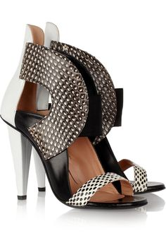 "ROLAND MOURET ""Dolls elaphe and leather sandals""  by THE SUPER FRESH KIDS"