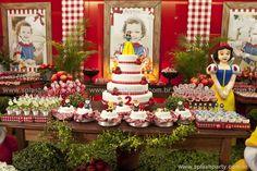SPLASH PARTY Festas e Eventos: Branca de Neve (Decoração)
